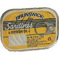 Brunswick Sardines in oil 3.75oz