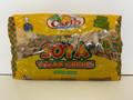 Carib Carmel Soya Chunks 8 oz in a plastic packet.High in fiber, gluten free add to any veggie of your choice