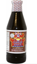 Chief Chinese Sauce in a glass bottle with Red and Brown labeling