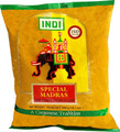 Indi Curry Powder 400g packaged in clear plastic with Green and Red labeling