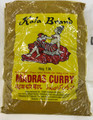 Kala Brand Madras Curry Powder 500g packaged in clear plastic with Yellow labeling