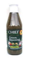 Chief Green Seasoning 26oz in a glass bottle with Green labeling