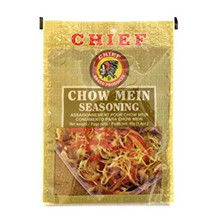 Chief Chowmein Seasoning 40g packaged in a tan packet