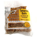 Honeycomb Tamarind Balls 50g packaged in clear plastic with Brown and Yellow labeling