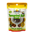 Ocho Rios Tamarind Ball 2.5oz packaged in clear plastic with White and Yellow labeling