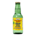 Bedessee west indian cream soda WIQ  7 OZ packaged in a glass bottle with Yellow labeling   Guyana cream soda