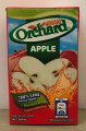 NESTLE ORCHARD APPLE drink in rectangular shaped box with Red and Blue labeling