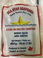 SEA STAR BONE-IN  SALTED CODFISH 1 LB