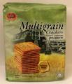 LEE Multigrain Crackers 330 grams packaged in Green plastic.