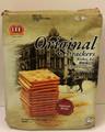 LEE Original Crackers 330 grams packaged in Tan packaging.