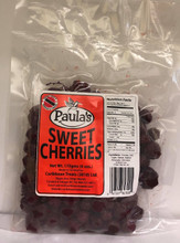 Paula's Sweet Cherries 170 grams Delicious Sweet Cherries packaged in clear plastic with a Red label