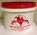 CURED PORK TAILS REGULAR IN BRINE 6 LBS  Cured Pork Tails in a White and Red Plastic Container