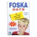 Foska Oats 400 grams   White Rectangle Package of Foska Oats