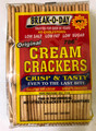 Break-O-Day Original Cream Crackers 500 grams  Clear, Red and Yellow Rectangle Packaging