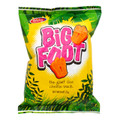 Big Foot Cheese Snack 25 grams   Yellow and Green packet