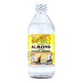 Guyanese Pride Artificial Almond 16 fl oz.   Glass bottle with Yellow Label