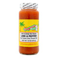 Guyanese Pride Hot & Zesty Sauce Lime & Pepper 12 oz