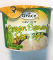 Grace Green Banana Porridge 1.94 oz in Green Plastic container