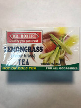 Lemongrass Tea in a White and Green box