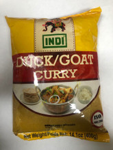 Duck/Goat Curry powder in plastic packet