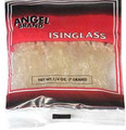 Isinglass in a plastic packet