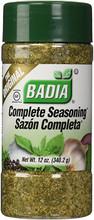 Badia Seasoning in plastic bottle