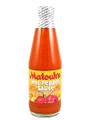 Matouk's Hot Pepper Sauce in a glass bottle with Yellow and Red labeling