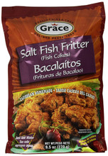 Saltfish Fritter mix in Red packet