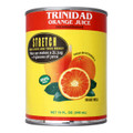 Trinidad Orange Juice in Yellow and Red can