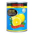 Grapefruit unsweetened juice in Blue and Yellow can