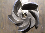 "Crane Demming, 8.845"", Impeller, 316ss, 14-00022 - part #, 2176 - patt #, PM0219143"