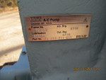 ITT A-C PUMP FRAME NO. 721-E4  INB BRG 6316 OUT BRG 6316