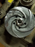 "Ahlstom APT 53-12 impeller 141942 455 mm 17-15/16"""