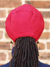Fits like a cap but stays on your head even while sleeping.  If you have been seeking a cap that stays on your head even when you sleep, your quest is over. The Stay On Pony Cap is the hat for you. It's unique secure tie feature, also puts your hair in a ponytail. If you are thinking, that is amazing..you should know it's also comfortable too. To easily use, just place the cap on your head with the elastic going across the front of the head as usual. Then bring the draw strings to the kitchen areas of your hair in the back to create a ponytail. After this, just tie it off based on what feels comfortable for you.