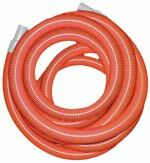 """50 Feet Long - 1½"""" Diameter  Built to take abuse that everyday professional use dishes out. With smooth free flowing bore inside, it allows high air movement and efficient vacuum. Strong and yet highly flexible this hose is the perfect choice for both truckmount and portable use."""
