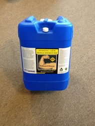 "DESCRIPTION  Strong Arm is a peroxide based cleaner that reacts with organic matter and generates the release of Oxygen. This reaction will lift organic stains and other contamination from deep within the treated surface of porous material allowing ease of removal later. This literally boils out the contamination and lifts it to the surface for vacuuming with HEPA     filtered vacuum equipment. Strong Arm, also       contains surface active agents to enhance wetting and allows for deeper penetration into the            substrate of wood and other porous materials. Strong Arm is 100% organic and biodegradable. Biohazards Remediation ""Blood, Mold, and Sewage""  Directions  Review the MSDS to determine the appropriate   Personal Protection before using this product. The best way to apply Strong Arm is with an airless sprayer. Spray Strong Arm as is, coating all         surfaces to be cleaned. Allow to dwell at least 10 minutes. If the contamination is severe it may      require  agitation with a brush to ensure proper  penetration. You will start to see the organic stains beginning to fade away as this product reacts with the organic contamination. Reapply Strong Arm until the stains and contamination are completely gone. After cleaning is complete, Vacuum the surface with HEPA   filtered vacuum equipment. Do not ever   return unused product to original container.        Contamination may exist and would cause the     peroxide to gas off and become less effective .  Cautions  Avoid contact with skin. Do not ingest. Keep out of the reach of children. When not in use keep container tightly closed but ventilated. Store container in cool dry area with temperatures below 100 deg. F. Personal Protective Equipment (PPE):  Use full face mask with filter cartridges capable of filtering organic vapors plus mold spores (3M 60926 or equivalent). You should wear a full body suit with head and foot covers, chemical resistant gloves and boots, tape at the wrist over suit to prevent unwanted exposure. Change air filter cartridges at frequent intervals. Dispose of body suit after one use.  Emergency First Aid  Eyes: Rinse for 15 minutes with clean water and seek   medical attention if irritation persist  Skin: Wash area with soap and water then rinse for 15 minutes with clean water. If irritation persists seek       medical attention.  Ingestion: Give large amounts of clean potable water. Seek immediate medical attention  Inhalation: Remove victim to source of fresh air. If irritation persists seek medical attention.     Active Ingredients: Hydrogen Peroxide (7722-84-1) ,     Surfactant  Shipping Information: Hydrogen Peroxide, Aqueous      Solution (with more than 8% but less than 20%), 5.1,         UN-2084, PGIII"