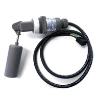 Waste Tank Shutoff Float Switch  Standard 3 wire with connector, used in Sapphire Scientific, Hydramaster, Prochem, and most wastetanks