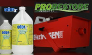 "ProRestore Electro-Gen 2000™ Powerful thermal fogging device for water-based fogging agents. The Electro-Gen 2000 was designed with safety and performance in mind. Use the Electro-Gen 2000 with ODORx Thermo-2000 formulations, which are water-based and offer a safer alternative to petroleum-based products.  The Electro-Gen 2000 is equipped with a thermostat controlled temperature sensor, which reduces the risk of operator error and ""droplet fallout."" The Electro-Gen 2000 delivers over 7,000 cubic feet of fog per minute. A dual action control provides both manual and automatic operation."