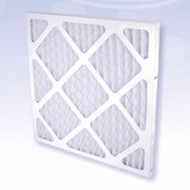 First Stage Pre-Filter Restore your DefendAir airmover to maximum capacity  High quality filter restores the HEPA 500 airscrubber to full efficiency. Replace regularly to ensure maximum performance. Synthetic fiber filter media rated at 10% efficiency. Captures the largest particles to help extend the life of the higher efficiency filters inside.