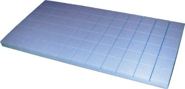"Premium Blue Blocks Protect Your Customer's Furniture AND Yourself!  Blue Blocks are the very best, especially for the heaviest furniture.  These 2"" x 2"" x 1"" blocks have the highest compressive strength available and will never crush.  This premium block will never leave a mess as it always snaps off cleanly.  The best block money can buy!  1008 per case."