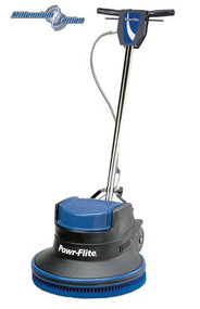 "20"" 1.5 hp Millennium Edition Dual Speed Floor Machine - M202-3  The Powr-Flite 20"" 1.5 hp Millennium Edition Dual Speed Floor Machine has the advantage of standard 175 RPM and high 320 RPM speeds for the most aggressive work loads. Dual speed 175 / 320 RPM machines have the power and speed to spray buff and dry polish tile floors, providing excellent results.  Features: • Dual 175 / 320 RPM operating speeds • Patented rotationally molded one-piece housing reduces noise and vibration • Powerful 1.5 hp motor can handle any job with ease • All Steel Triple Planetary Gear Box • Uses 16"" - 17"" Pads / Brushes • Thumb activated safety interlock switch prevents accidental start ups • Each machine is assembled and tested by skilled American workers  Millennium Edition Dual Speed floor machines effectively scrub, strip, spray buff and polish every type of floor. Incorporating a patented noise and vibration reducing molded housing, the Dual Speed Floor Machines provide versatility for every job."