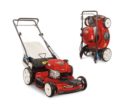 "Engine 7.25 ft-lb Gross Torque* Briggs & Stratton® EXi 163cc w/Ready Start® - no need to prime or choke. Just Check & Add feature - no oil change requiredCutting Width 22"" / 56 cmHeight of Cut 1.0"" - 4.0"" / 2.5 - 10 cmNumber of Blades 1Guaranteed-to-Start Promise 3-Year GTS Full**Starter RecoilDrive System Variable Speed Front-Wheel DriveDeck Material SteelMulch, Bag, Side Discharge StandardWashout Port StandardWarranty 2-Year Full**Ground Speed Up to 3.25 mph / 5.25 km/hHandle Type SmartStow, 1 Piece, Adjustable HeightWheel Height Front 8"" / 20.3 cm, Rear 11"" / 28 cmWeight 78 lbs. / 35.4 kgDisclaimer *The gross torque of this engine was laboratory rated at 2600 rpm per SAE J1940 by the engine manufacturer. As configured to meet safety, emission and operating requirements, the actual engine torque on this class of mower will be significantly lower. **See dealer for warranty details."