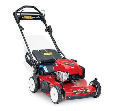 "Engine 7.25 ft-lb Gross Torque* Briggs & Stratton® EXi 163cc w/Ready Start® - no need to prime or choke. Just Check & Add feature - no oil change requiredCutting Width 22"" / 56 cmHeight of Cut 1.0"" - 4.0"" / 2.5 - 10 cmGuaranteed-to-Start Promise 3-Year GTS Full**Starter ElectricDrive System Personal Pace Rear-Wheel DriveDeck Material SteelMulch, Bag, Side Discharge StandardWashout Port StandardWarranty 2-Year Full**Engine Displacement 163ccHandle Type 1 Piece, Adjustable HeightWheel Height 8"" / 20.3 cmWeight 87 lbs. / 39.5 kgDisclaimer *The gross torque of this engine was laboratory rated at 2600 rpm per SAE J1940 by the engine manufacturer. As configured to meet safety, emission and operating requirements, the actual engine torque on this class of mower will be significantly lower. **See dealer for warranty details."