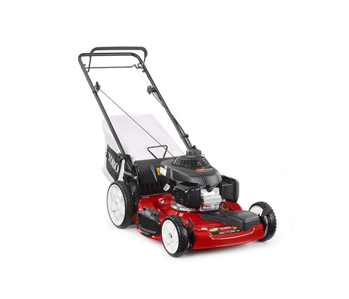 "Engine Honda GCV 160cc OHC w/AutoChokeCutting Width 22"" / 56 cmHeight of Cut 1.0"" - 4.0"" / 2.5 - 10 cmGuaranteed-to-Start Promise 3-Year GTS Full*Starter RecoilDrive System Variable Speed Front-Wheel DriveDeck Material SteelMulch, Bag, Side Discharge StandardWashout Port StandardWarranty 2-Year Full*Handle Type 1 Piece, Adjustable HeightWheel Height Front 8"" / 20.3 cm, Rear 11"" / 28 cmWeight 75 lbs. / 34.0 kgDisclaimer *See dealer for warranty details."