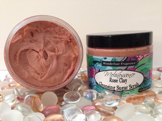 Rose Clay Cleansing Sugar Scrub