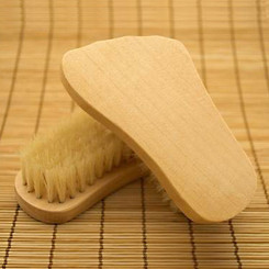 Wooden Foot Brush