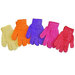 Glitter Bath Gloves