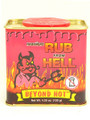 Habanero Rub from Hell