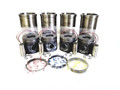 ENGINE SERVICE KIT 4 CYL SLEEVES, PISTONS & RINGS (4633)