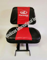 SEAT COVER BLACK AND RED -SMALL